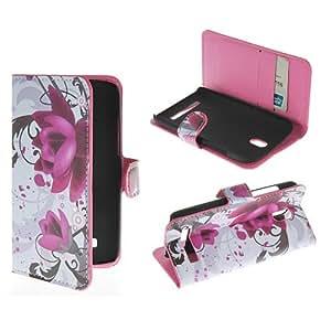 HTC Desire 500 Case,HTC Desire 506 Leather Case,Thinkcase Wallet Leather case for HTC Desire 500 506e (553)