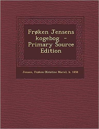 Frøken Jensens kogebog (Danish Edition)