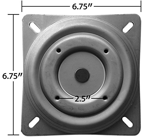 Replacement Bar Stool Swivel 675quot Square w Round  : 51m4Z2BYQA5L from www.selloscope.com size 500 x 467 jpeg 36kB