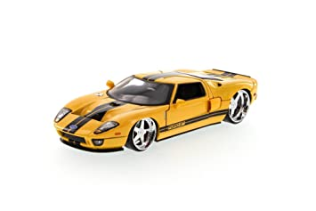 Ford Gt Yellow Jada Toys Bigtime Kustoms  Scalecast