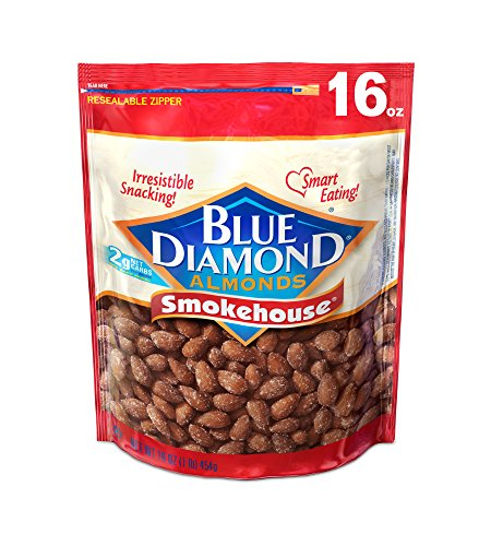 Price comparison product image Blue Diamond Almonds,  Smokehouse,  16 Ounce