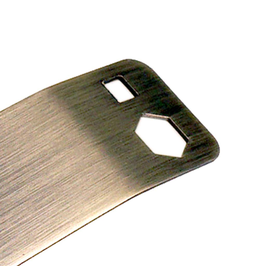 Shiwaki 1pc Guitarra Bass Multi Spanner Wrench Tool Para Apretar Potes Interruptores Jacks
