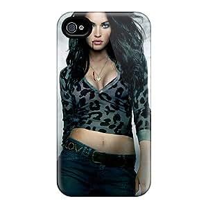 Apple Iphone 4/4s FxE10180DSlZ Support Personal Customs Lifelike Megan Fox In Jennifers Body Poster Series Best Hard Cell-phone Cases -JacquieWasylnuk