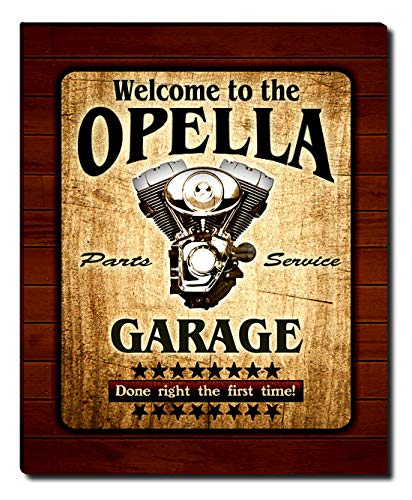 ZuWEE Opella Family Garage Gallery Wrapped Canvas Print