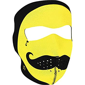Zan Headgear Mens Mo Happy Neoprene Full Face Mask