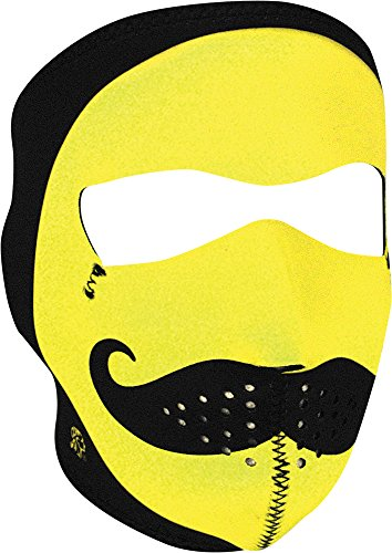 - Zan Headgear Men's Mo Happy Neoprene Full Face Mask, One Size
