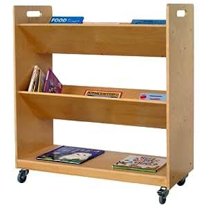 V Shaped Book Trolley
