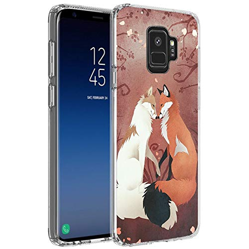 Samsung Galaxy S9 Case, Slim-Fit Flexible Design Fox, used for sale  Delivered anywhere in Canada