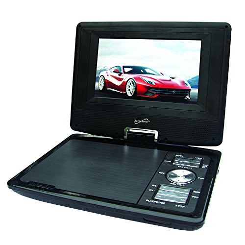 SuperSonic SC-257 Portable DVD Player 7