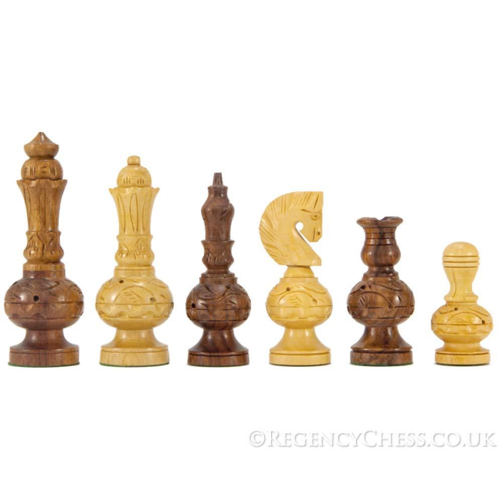 buena reputación Mogul Mogul Mogul calados tallado piezas de ajedrez  popular