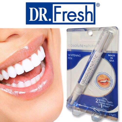 Absolute White Teeth Whitening Pen Made In Usa Dr Fresh Buy