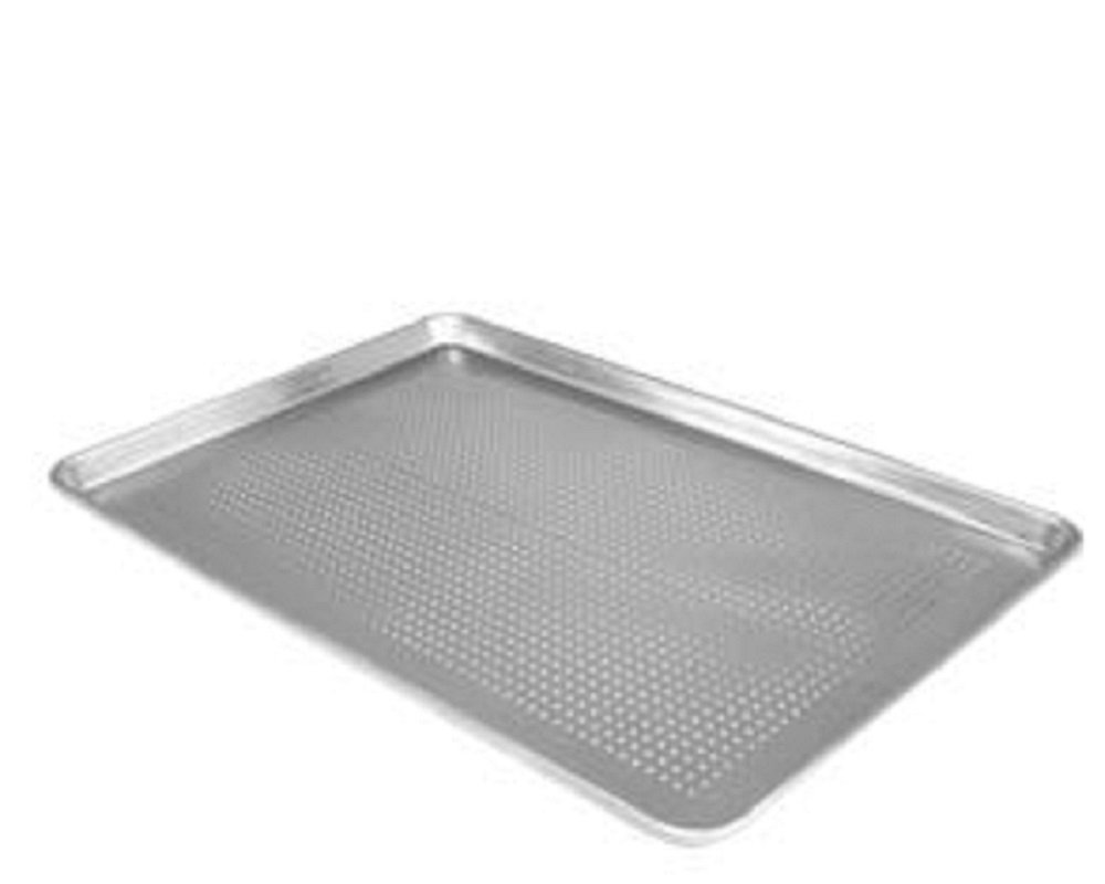 ALUMINUM SHEET PANS - DOZEN - BAKE - BAKING - FREE SHIPPING (18'' X 26'' FULL SIZE PERFORATED)