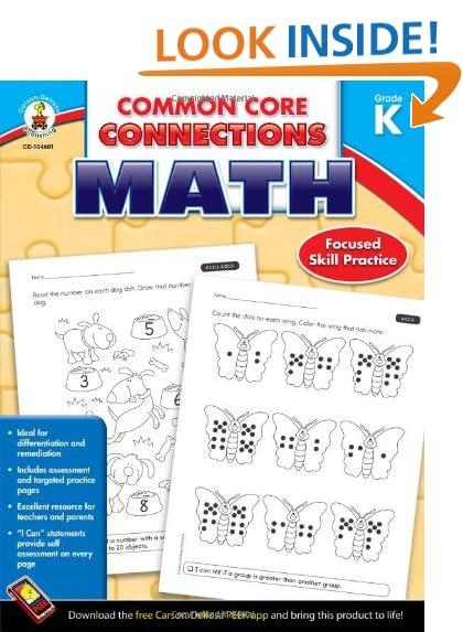 Common Core Kindergarten: Amazon.com