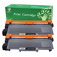 GREENSKY 2Packs (2 x Black )Compatible Replacement For Brother TN630 TN660 TN660 TN2320 High Yield Toner Cartridge