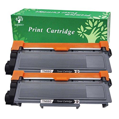 GREENSKY 2Pack New Compatible Brother TN630 TN660 Toner Cartridge Black for Brother HL-L2340DW HL-L2300D HL-L2380DW MFC-L2700DW L2740DW DCP-L2540DW L2520DW HL-L2320D MFC-L2720DW L2740DW Printer