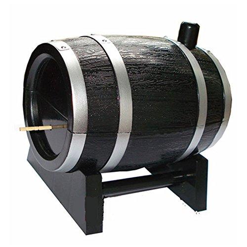 1 opinioni per Automatico Toothpick Box Barrel-Shaped Box stuzzicadenti stecchino di legno
