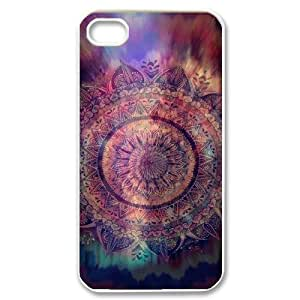 Teal Tribal Original New Print DIY Phone Case for Iphone 4,4S,personalized case cover ygtg614624 by Maris's Diary