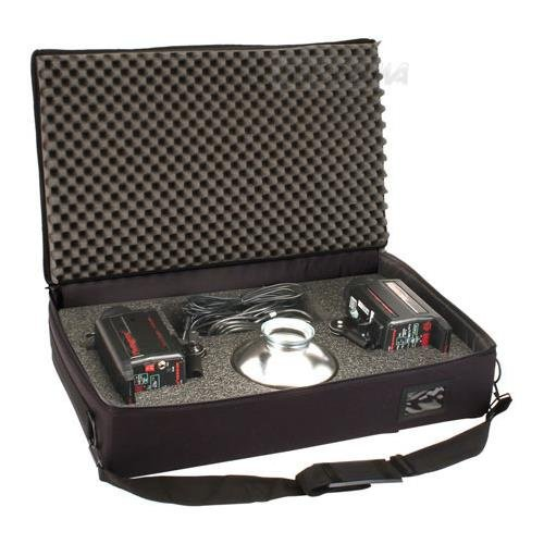 Soft Case for 2 Powerlight 2500DR's, 917379, CASES LIGHTING-Dedicated Component Cases by Photogenic
