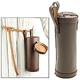 Medieval Leather Bottle Holder Brown