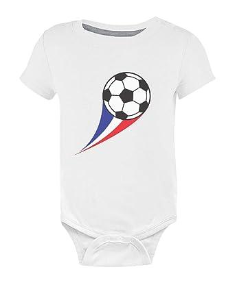 Green Turtle T-Shirts Body bébé Fan de Foot Drapeau Francais idée Naissance Body  Bébé Manche Courte  Amazon.fr  Vêtements et accessoires b52c90e8255