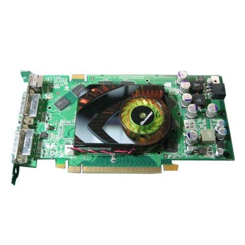 - Dell nVidia Quadro FX3500 256MB Dual DVI TV-Out PCI-E Graphics Video Card - WH242