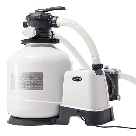 "Intex 26652 - Depuradora de arena Krystal Clear 12.000 litros/hora 16"" ..."