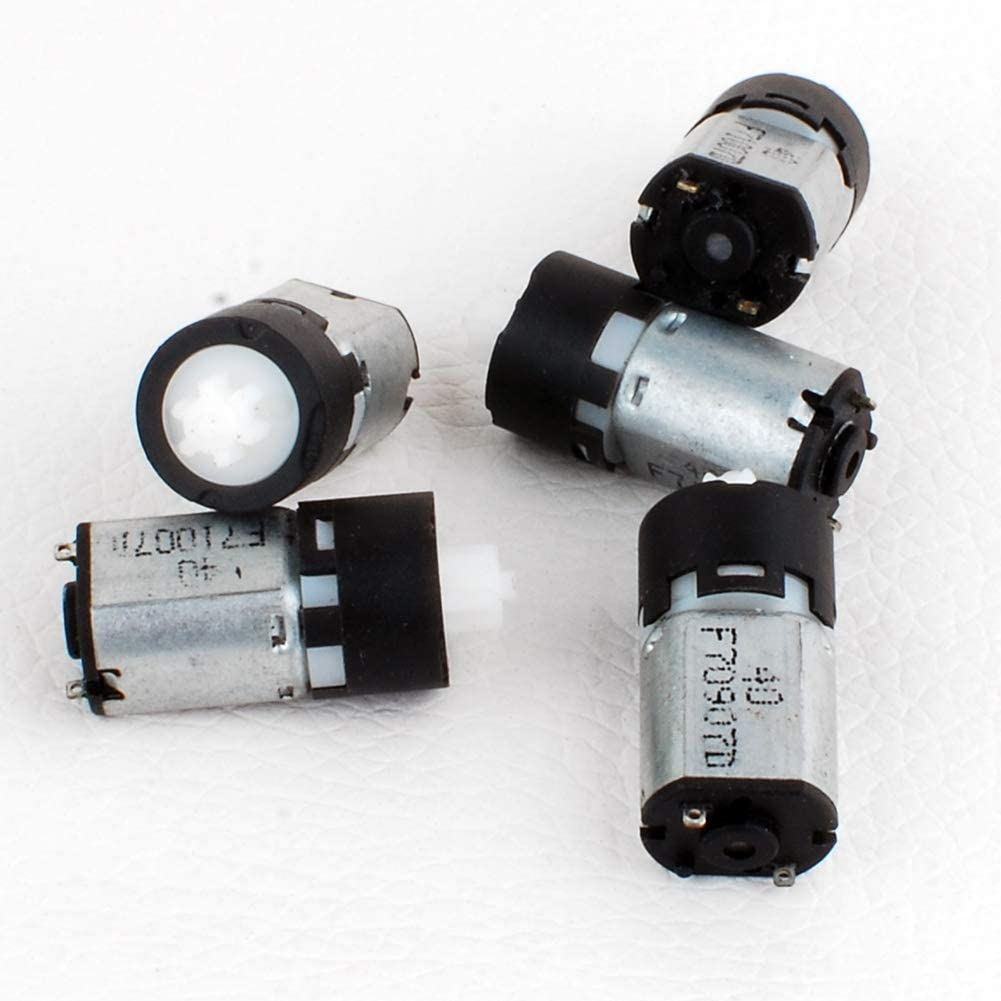 NW 5pcs 3V Micro Planetary Reducer Motor High Torque DC Motor DIY Robot Gearbox Motor (9161C)