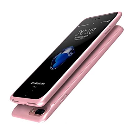 Amazon.com: HONTECH - Carcasa de batería para iPhone 7 Plus ...
