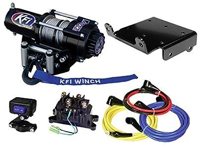 KFI Combo Kit - A2500-R2 Winch & Winch Mount - 2009-2018 Suzuki LT-A500Xi King Quad 500