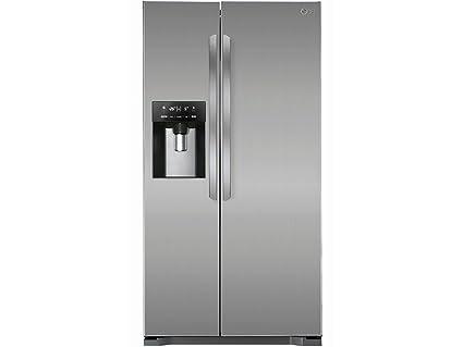 Kühlschrank Lg : Lg gsl pzcv kühlschrank kühlteil l gefrierteil l amazon