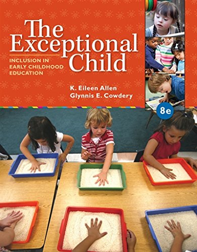 1285432371 – The Exceptional Child: Inclusion in Early Childhood Education