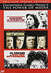 Controversial Classics: Volume 2 - The Power of Media (All the President's Men / Network / Dog Day Afternoon)