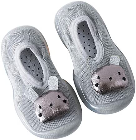 幼児の赤ちゃんの女の子の子供のウサギの柔らかい唯一のゴム製靴のソックスのスリッパのストッキング
