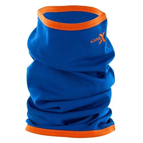 WoolX X510 Long Gaiter - Cobalt/Tangerine Pop - OFA (Wool Tangerine)