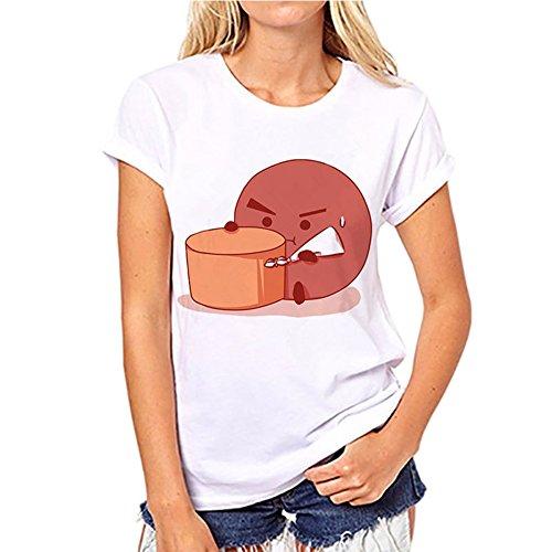 Shirt en BTS Et A24 T Femme Courtes Kpop Discovery Manches OCI5q7UwxU