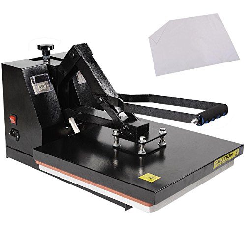 New Digital Clamshell Heat Press Transfer T-shirt Sublimation Machine 15' X 15'
