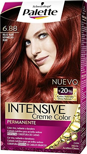 Palette Intense Color Cream Coloración Permanente, Tono 6.88-115 ml