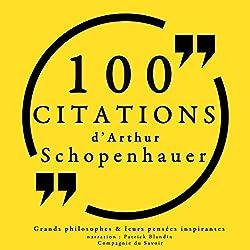 Philosophie pour tous : 100 citations d'Arthur Schopenhauer