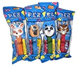 Pez Kung Fu Panda Set Po, Tigress, Master Monkey, Master Shifu Set of 4
