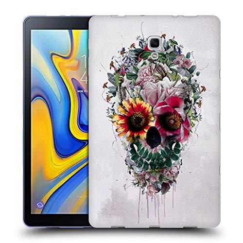 Official Riza Peker Sugar Skulls 6 Soft Gel Case for Samsung Galaxy Tab A 10.5 (2018)