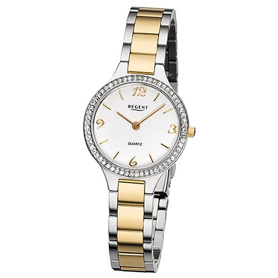 Regent Reloj mujer f1062 Acero Inoxidable Bicolor: Regent ...