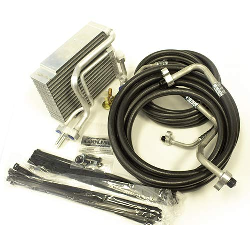 Complete Rear AC Kit: Auxiliary AC Hose Kit and Evaporator 2002-2009 Trailblazer/Envoy/Rainer/Ascender by Auto Cooling Solutions (Image #1)