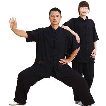 asdxz Tradicional Ropa De Tai Chi Artes Marciales Chándales Kung Fu Traje Unisex Traje De Kung Fu