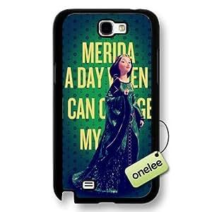 Disney Brave Princess Merida Hard Plastic Phone Case & Samsung Galaxy S6 - Black