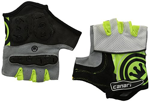 Canari Cyclewear Women's Evolution Glove, Killer Yellow, - Glove Bike Womens Signature