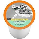 Brooklyn Bean RoasterySingle-Cup Coffee for Keurig K-Cup Brewers, Praline Dream, 40 count