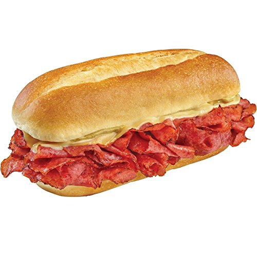 Raybern's Pastrami & Cheese 6 inch, 5.5 oz. (8 count) - Pastrami Sandwich