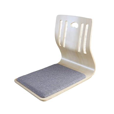 Amazon.com: Sillas de suelo con respaldo soporte, asiento ...