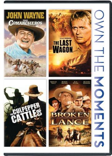 Comancheros, The / The Last Wagon / The Culpepper Cattle Co. / Broken Lance Quadruple Feature by Fox Home Entertainment