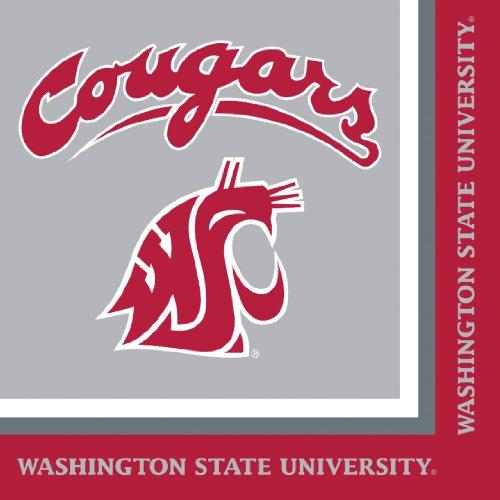 Creative Converting Washington Cougars 20 Count